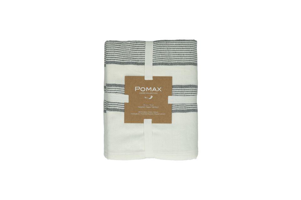 La marca Pomax presenta el mantel Tizia en un formato cuadrado con 170 cm de lado