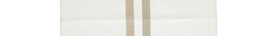 Descriptivo Materiales  Manteles de algodón Tizia