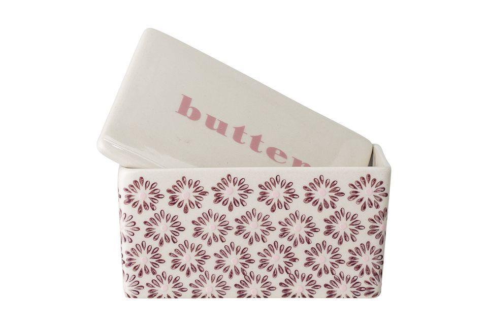 Una discreta y elegante caja de mantequilla