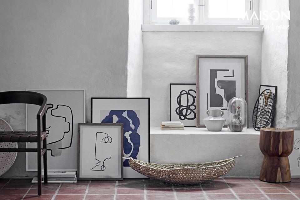 Un marco elegante y de diseño para su interior