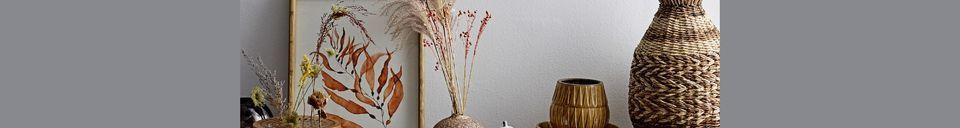 Descriptivo Materiales  Marco Braize en madera de abeto