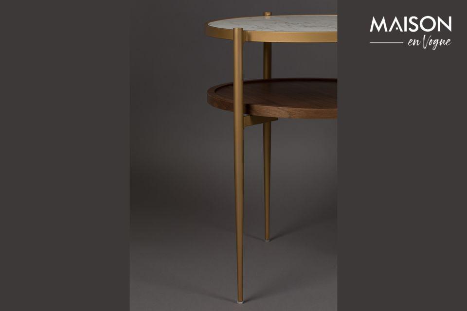 Con un peso de 8,2 kg, esta mesa de fieltro se puede mover fácilmente de una habitación a otra
