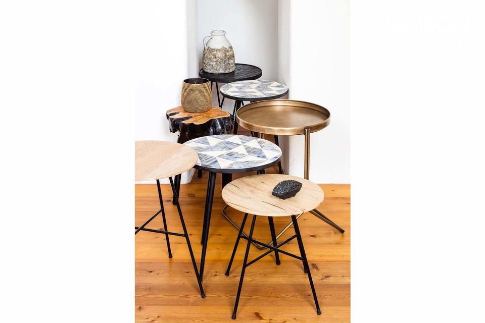 Una bonita mesa redonda