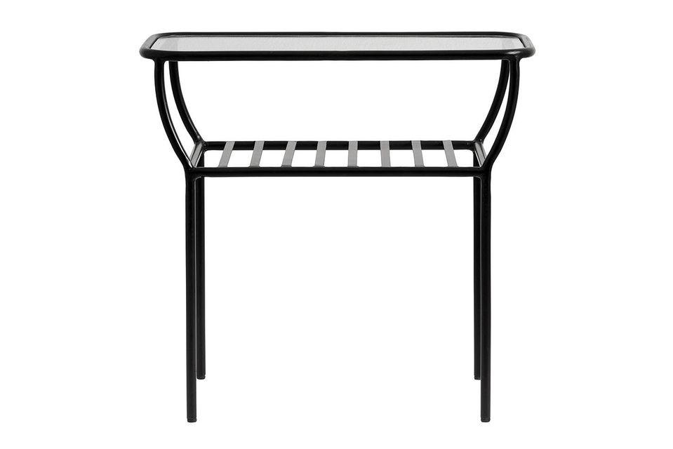 Una mesa auxiliar muy práctica y versátil