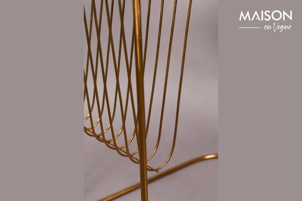 Una mesa de estilo art decó sofisticado y terriblemente original