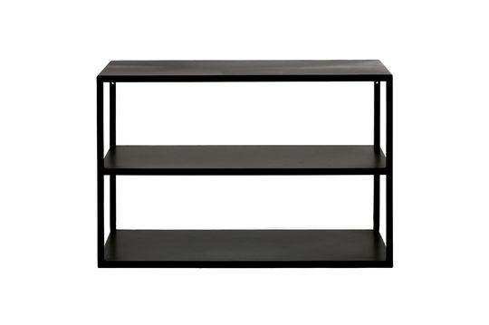 Mesa auxiliar Eszential con 3 estantes Clipped