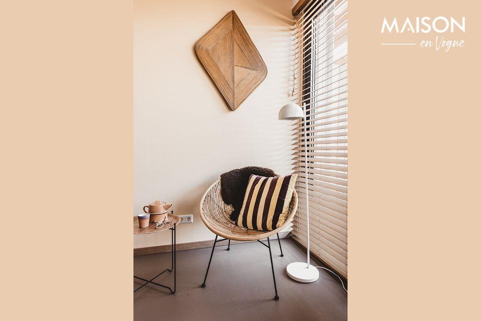 Una pequeña, práctica y elegante mesa