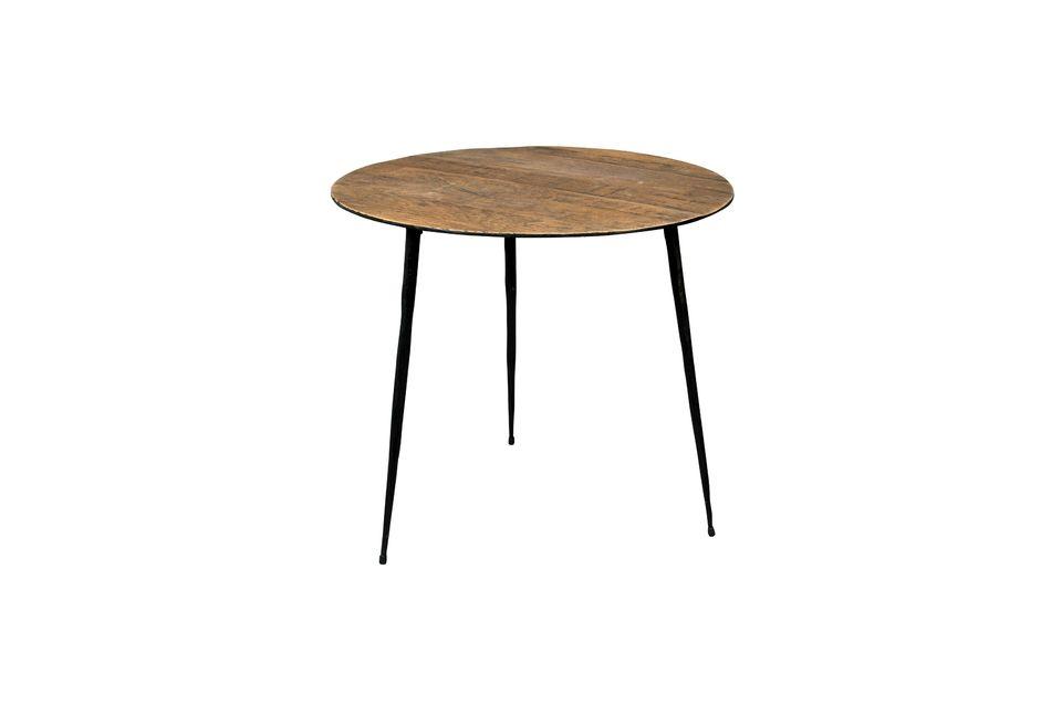 Mesa auxiliar Pepper marrón 45 centímetros - 6
