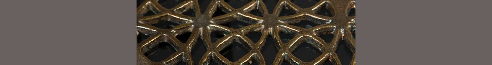 Descriptivo Materiales  Mesa auxiliar Sari