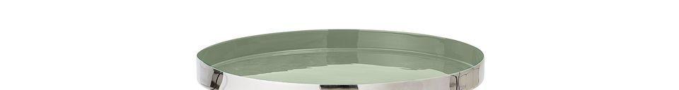 Descriptivo Materiales  Mesa auxiliar Sola verde