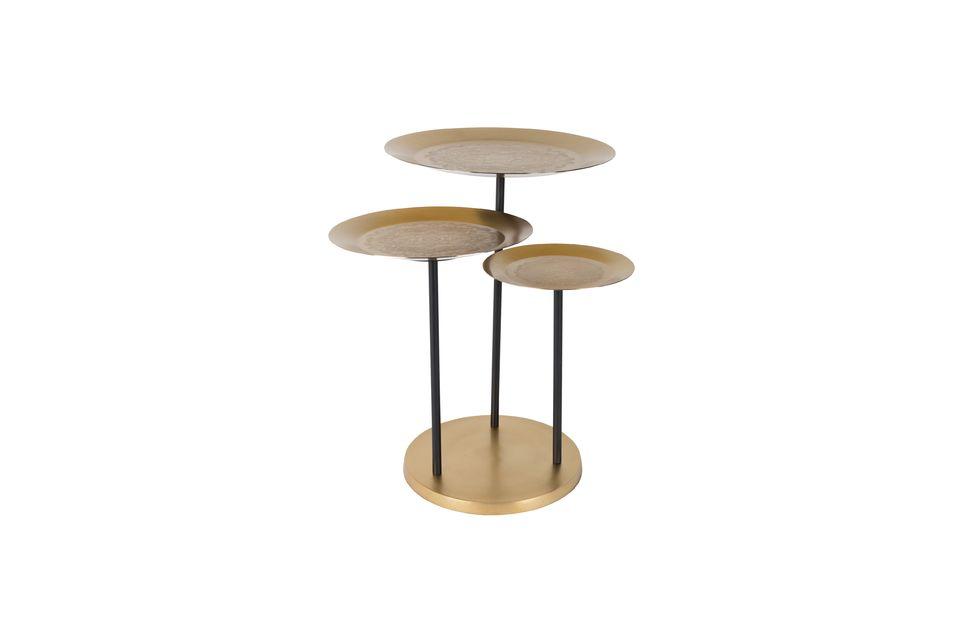 Estos tableros están grabados con motivos decorativos que acentúan la elegancia natural de esta