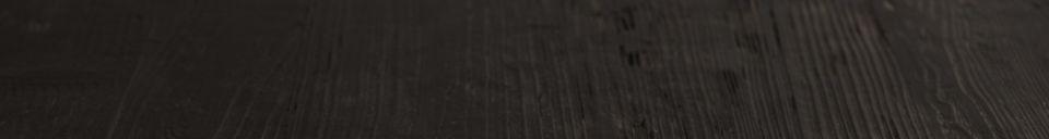 Descriptivo Materiales  Mesa Bistro Braza cuadrada, color negro