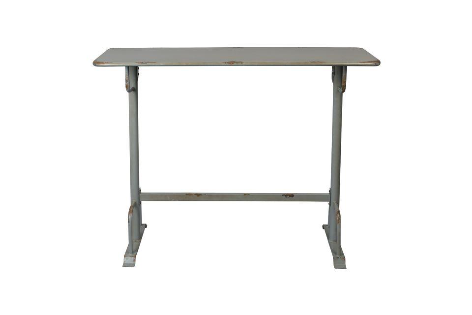 Mesa de bar Declan gris - 8