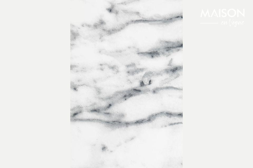 Mesa de Bistro Snow mármol - 2