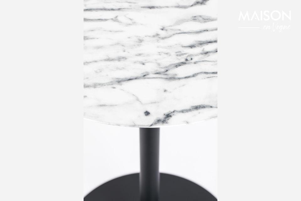 Mesa de Bistro Snow mármol - 3