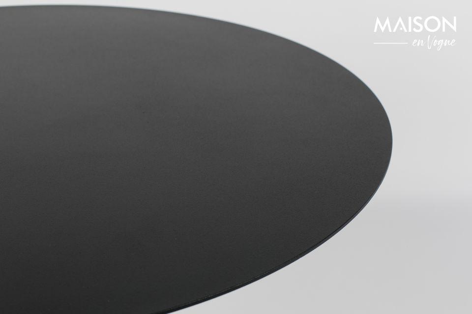 Mesa de Bistro Snow negro - 4