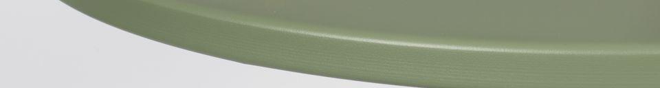 Descriptivo Materiales  Mesa de Bistro Verde Metsu