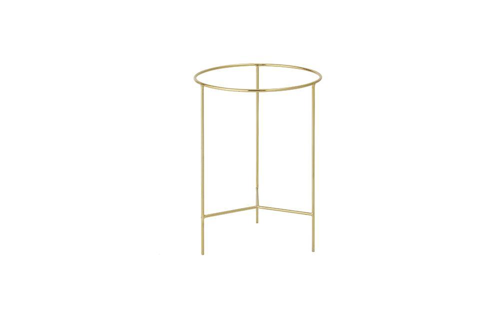 Esta pequeña mesa tiene todas las características de una grande