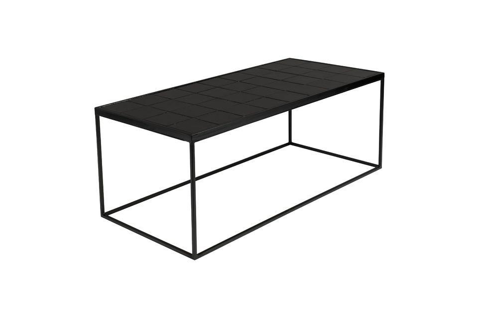 Mesa de centro Glazed negro - 4