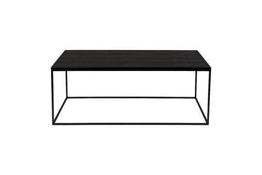 Mesa de centro Glazed negro Clipped