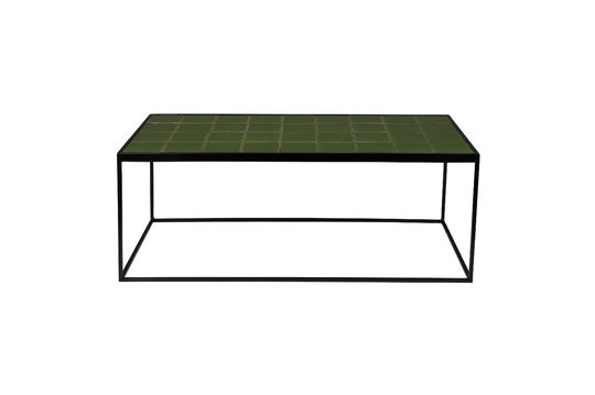 Mesa de centro Glazed verde Clipped