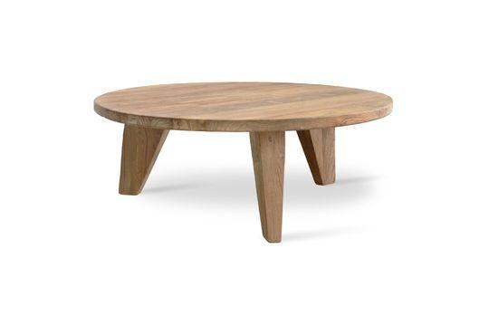 Mesa de centro Greffeil en madera Clipped