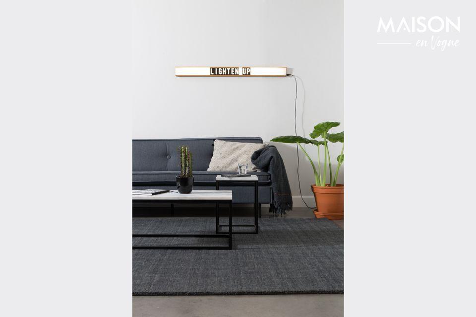 Tanto gráfico como clásico, aporta un estilo refinado y sobrio a su sala de estar