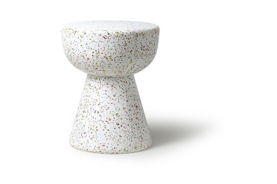 El diseño contemporáneo es muy agradable y sus formas redondeadas están bien proporcionadas