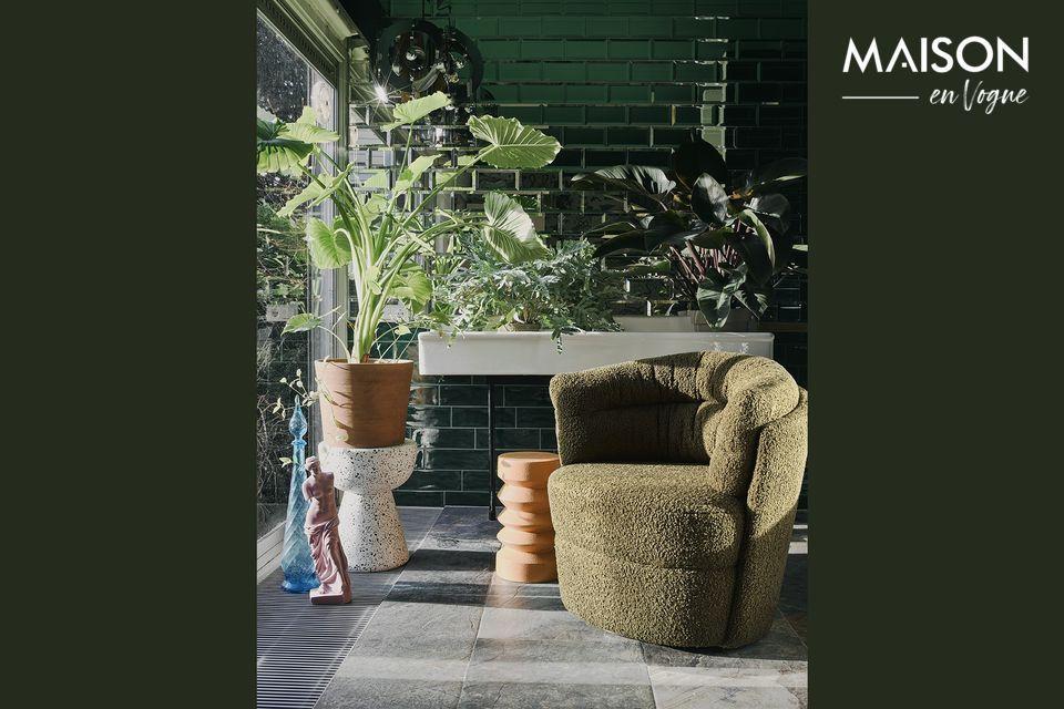 El terrazo es un revestimiento italiano hecho de fragmentos de piedra natural y mármol