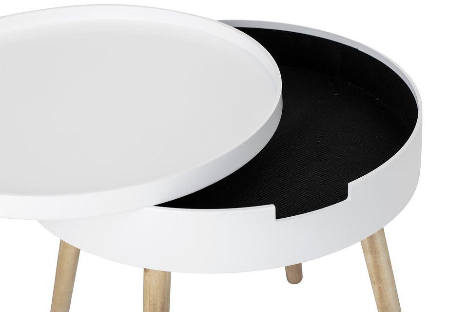 Una mesa inteligentemente diseñada