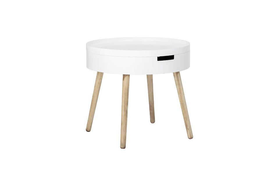 La mesa de café Tapa es de inspiración escandinava