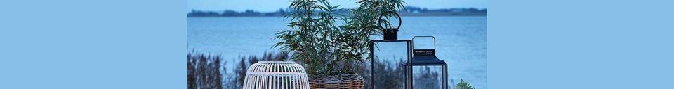 Descriptivo Materiales  Mesa de jardín Garden de acero lacado