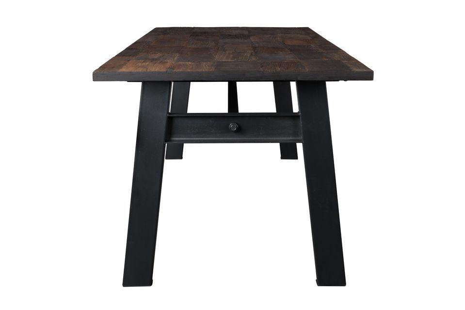 Mesa de madera Crude - 8