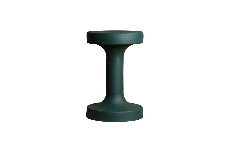Esta mesa de café de metal verde amueblará con gusto la habitación de su elección