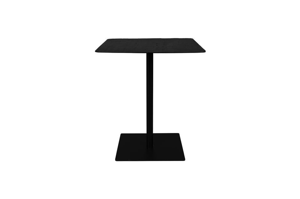 Mesa de mostrador cuadrada Braza color negro Dutch Bone