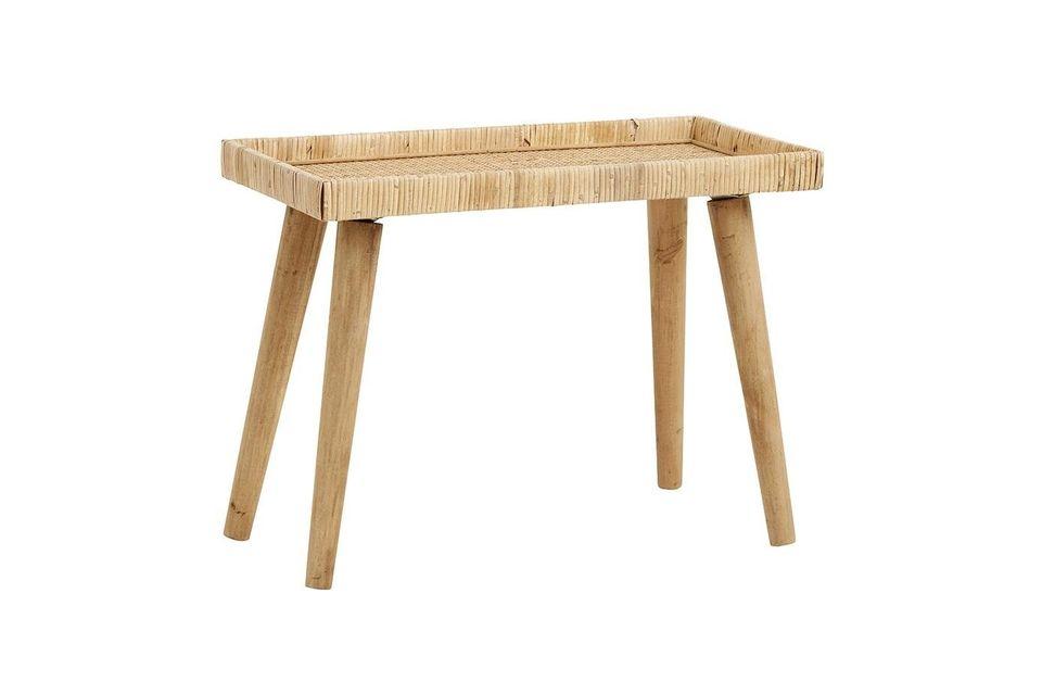 Su color claro de la madera permite combinarlo con muchos estilos decorativos