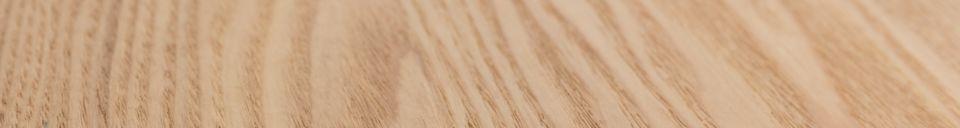 Descriptivo Materiales  Mesa Glimps 120 162X80 Natural
