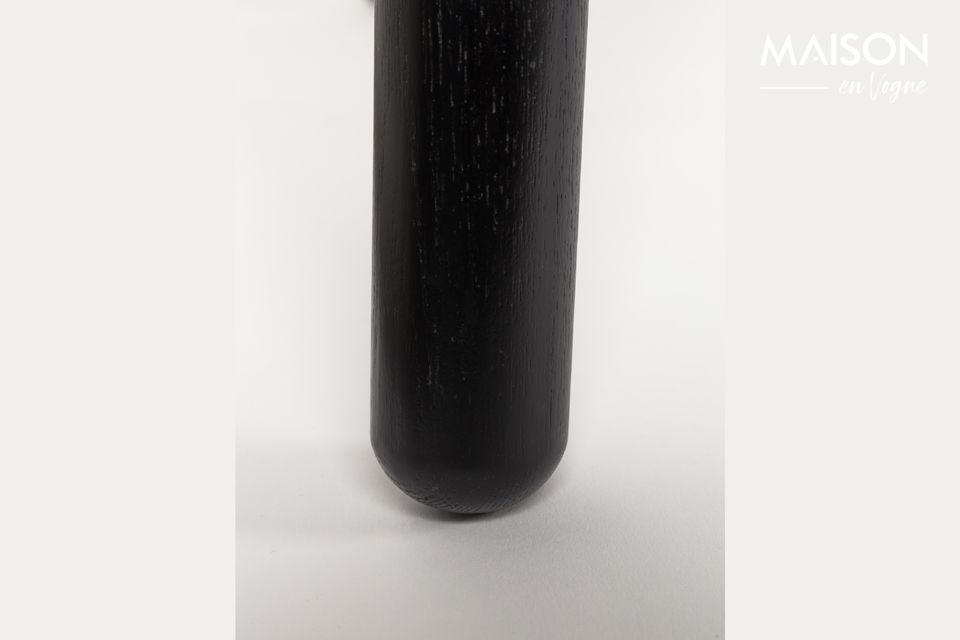Mesa Glimps 120 162X80 Negro - 8