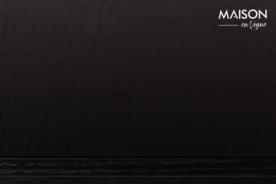 Mesa Glimps 120 162X80 Negro - 9