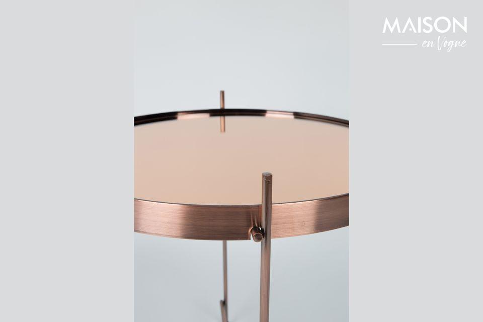 Mesa lateral de cobre Cupido - 5