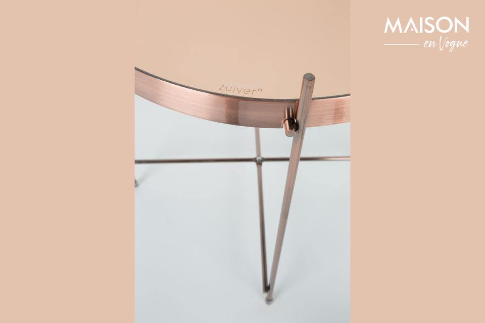 Mesa lateral de cobre Cupido - 6