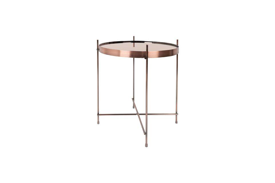 Mesa lateral de cobre Cupido - 7