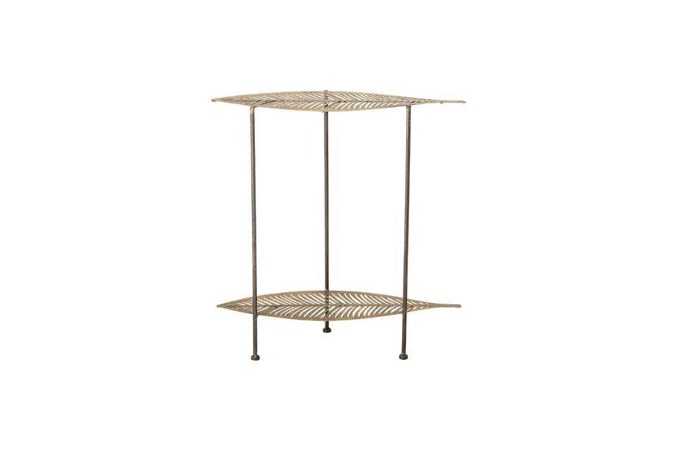 Mesa lateral de metal dorado Silja Bloomingville