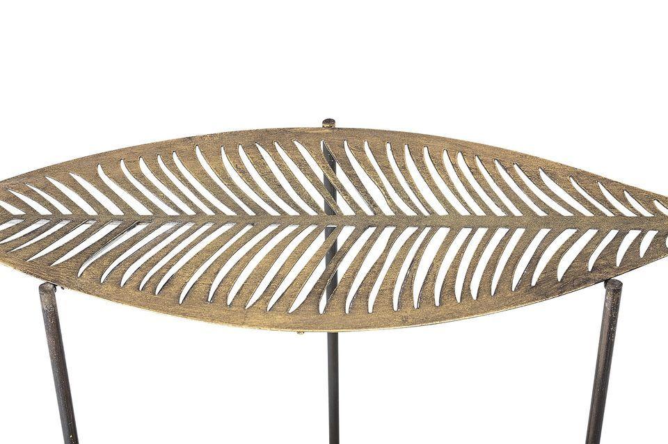 Una mesa auxiliar muy original y elegante