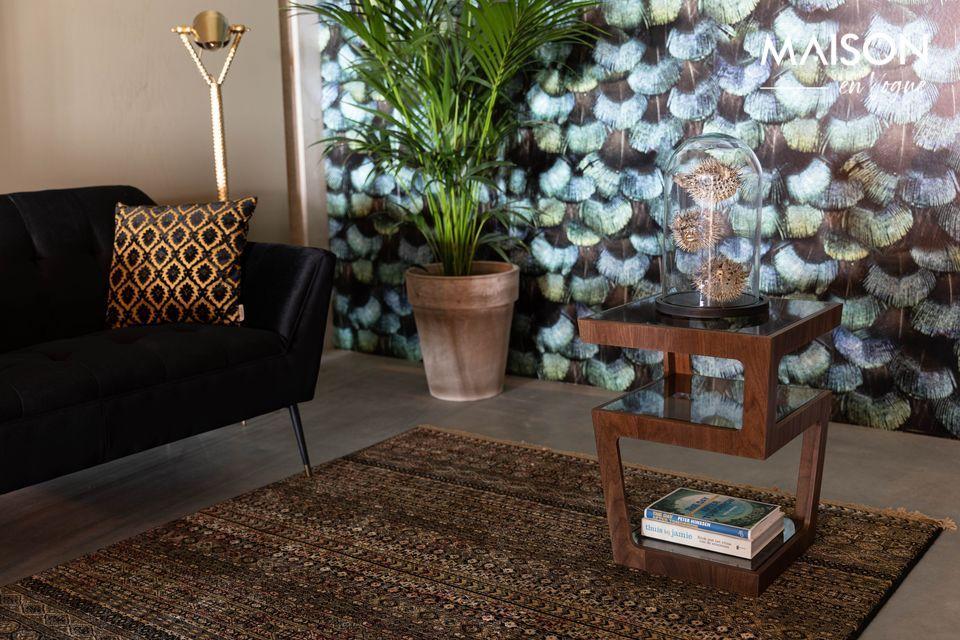 Un aspecto sofisticado y un estilo vintage para tu sala de estar