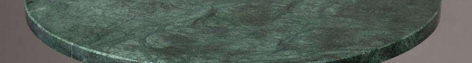 Descriptivo Materiales  Mesa lateral Gunnar verde