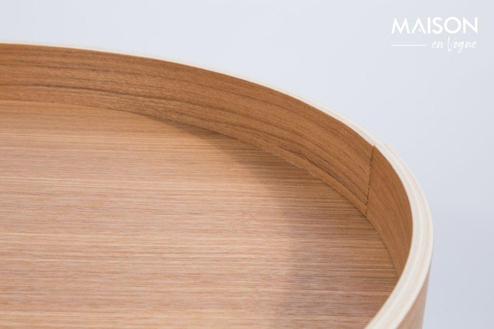 Mesa lateral Oak Tray - 8