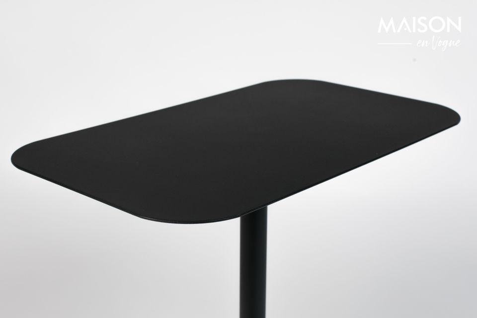 Una elegante mesa rectangular