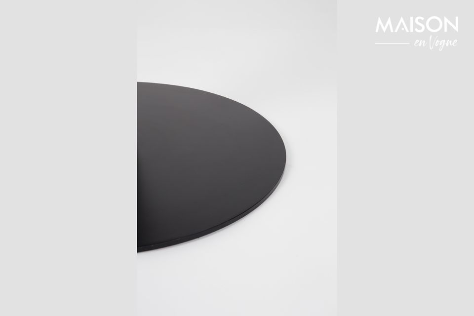 Mesa Marble King 90' negra - 6