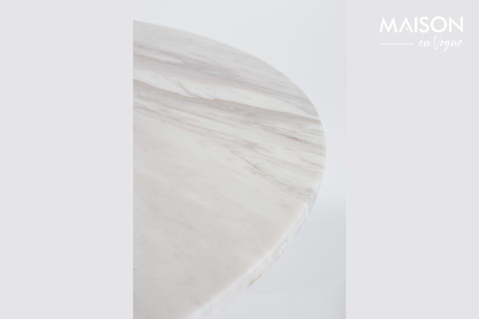 Mesa Marble King 90' negra - 9